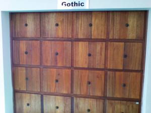 16 Panel Gothic