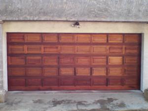 40 Panel Meranti Garage Door